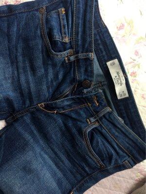 Abercrombie & Fitch Skinny jeans donkerblauw