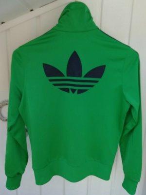 Adidas Overgangsjack groen-zwart