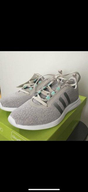 Adidas NEO Sneakers met veters lichtgrijs