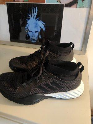 Adidas Zapatos brogue negro-gris antracita