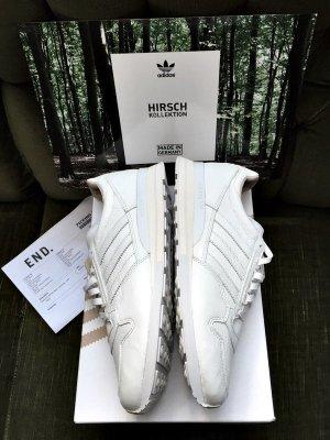 Adidas Skaterschoenen wit Leer