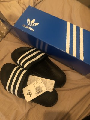 Adidas Originals Ciabatta nero-bianco