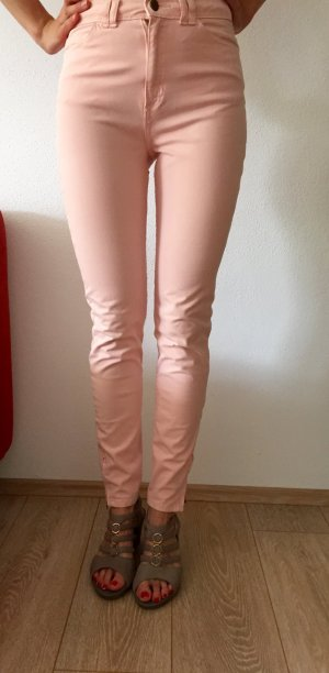 Neue American Apparel Skinny Stretch Jeans Hose pink Gr.28/ 29