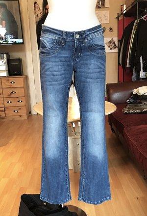 Amisu Jeans skinny bleu