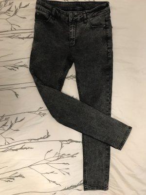 Neue ASOS Hose schwarz grau verwaschen