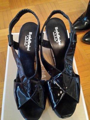Baldinini Platform High-Heeled Sandal black