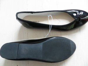 Neue Ballerinas Gr. 40 schwarz C&A