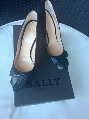 Neue. Bally Pascalle Bow Leather Pumps 36 1/2 (FR)