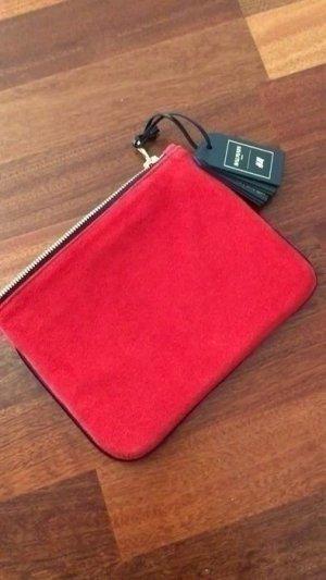 NEUE Balmain Clutch Handtasche  in rot schwarz - Blogger