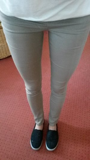 neue beige Leggings *pieces* XS/S