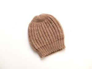 neue beige Pimkie Strickmütze Mütze