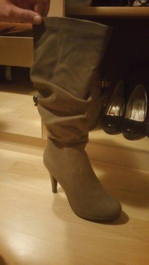 Neue beige Stiefel..