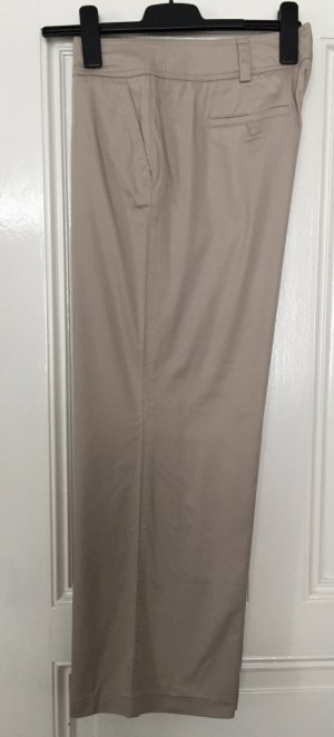 Pantalone culotte beige chiaro-crema Cotone
