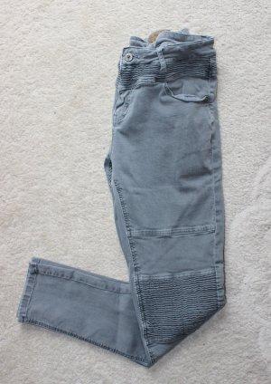 Neue Bikerhose in grau