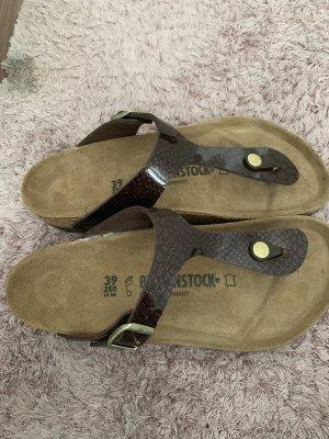 Birkenstock Sandalo outdoor marrone-nero