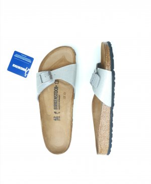 Neue Birkenstock Madrid Gr. 42 schmal Magic Galaxy Silver