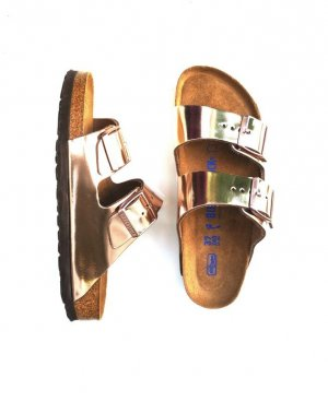 Birkenstock Comfort Sandals multicolored leather