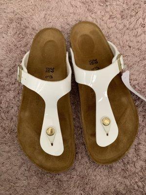 Birkenstock Dianette sandalen wit