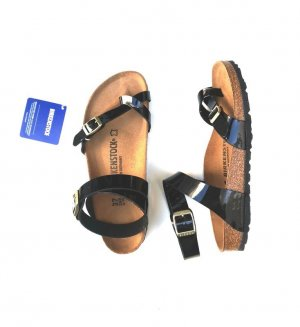 Birkenstock Toe-Post sandals multicolored leather