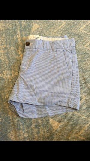Neue blau/weiße Shorts von H&M