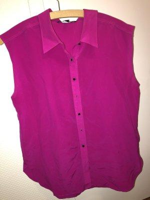 W118 by Walter Baker Mouwloze blouse magenta