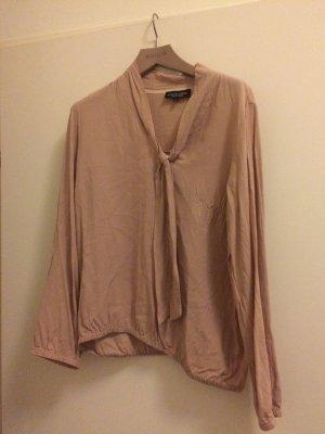 Neue Bluse aus viskose von Ana alcazar, größe 42. schöner beige/Rose Ton