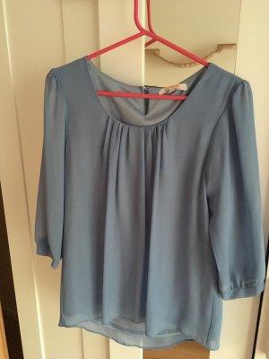 Neue Bluse Hellblau Größe 36