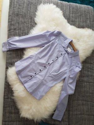 neue Bluse in flieder tailliert