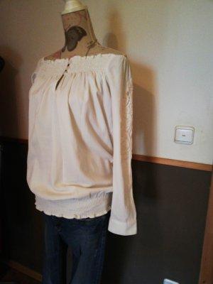 Almatrichi Camicia monospalla bianco
