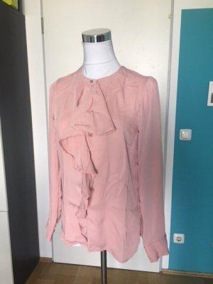 H&M Blouse à manches longues rose