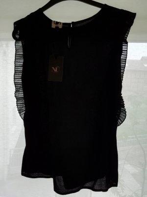 NÜ Denmark Mouwloze blouse zwart