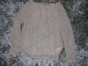 Neue Bluse von Tom Tailor in Nude/Rose Gr. XS