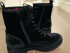 Bench Low boot noir