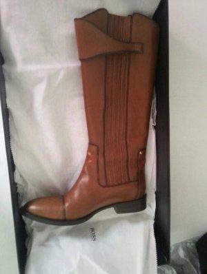 Hugo Boss Western Boots brown