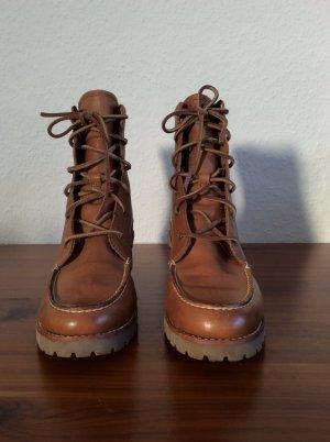 Neue braune Leder Ankle Boots von Sperry