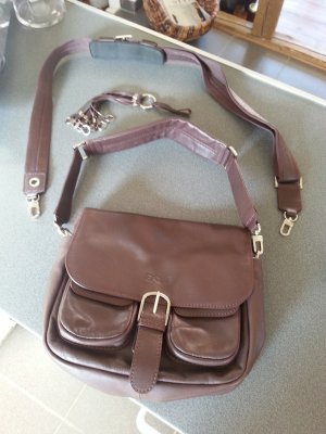 Bree Crossbody bag silver-colored-brown