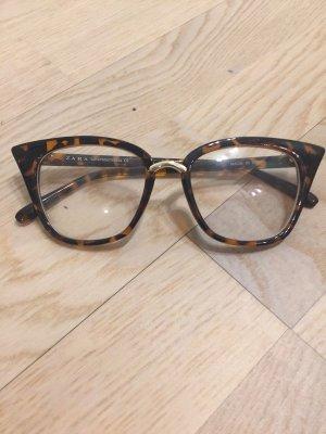 Zara Glasses brown-light brown