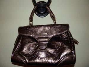 neue bronzefarbene Handtasche