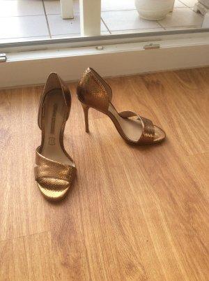 Neue Buffalo Schuhe Gold in 37
