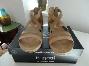 Neue Bugatti Sandale - braun/gold