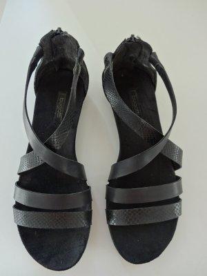 Neue Bugatti Sandale - schwarz
