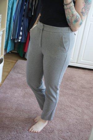 H&M Pantalón de pinza gris-gris claro