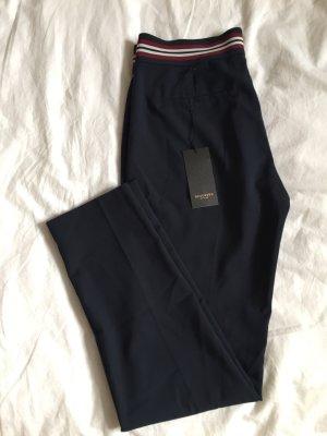 Reserved Pantalon à pinces bleu foncé