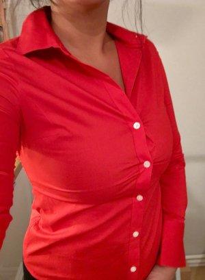 Neue Calvin Klein Bluse im leuchtenden rot