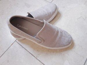 NEUE Calvin Klein Schuhe in grau/silber, Trend, Blogger, Musthave