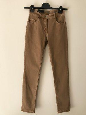 Betty Barclay Pantalón de cinco bolsillos camel Algodón