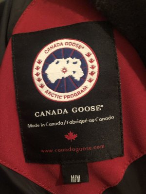 Canada Goose Down Jacket carmine-red
