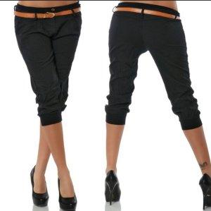 Pantalon capri noir