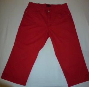 Angels Pantalón capri rojo tejido mezclado