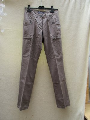 North Route Cargo Pants olive green cotton
